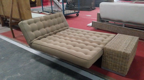 Reclining Wicker Loveseat