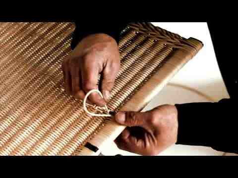 how to refinish rattan