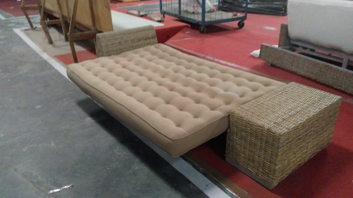 Rattan Sofa bed suppliers